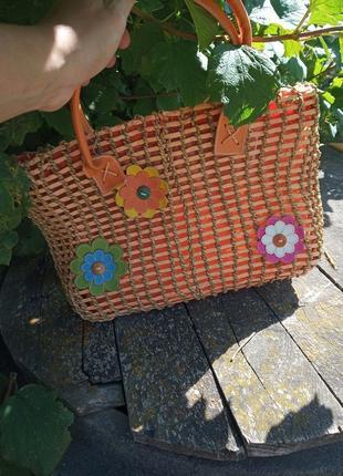 Плетена сумка