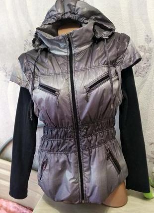 Куртка- жилетка