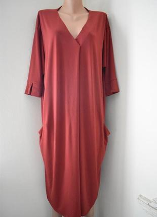 Стильное платье большого размера evans