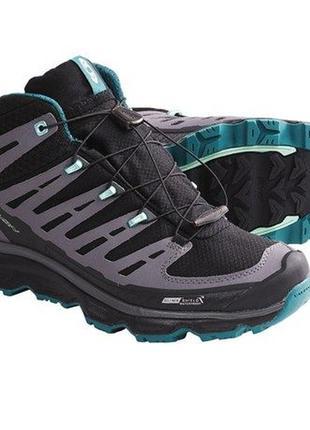 Топовые походные ботинки salomon synapse mid cs waterproof.