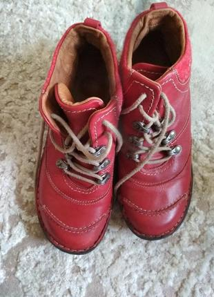 Женские туфли, ботинки кожа