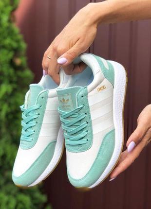 Шикарные женские кроссовки adidas iniki адидас 😍