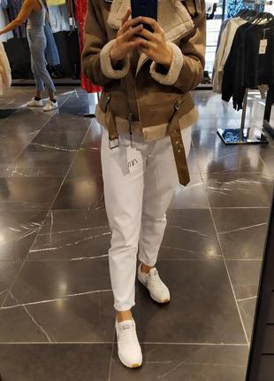Куртка-дублёнка zara оригинал