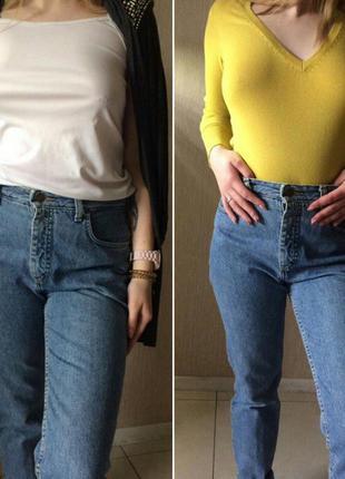 """Крутые джинсы """"mom jeans"""""""