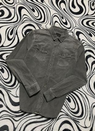 Вельветовая рубашка allsaints