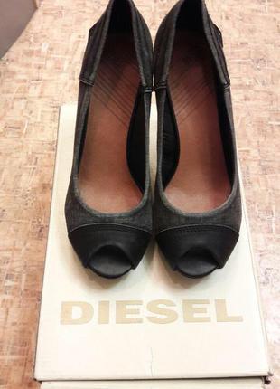 Туфли на каблуке diesel