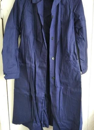 Новый рабочий синий халат