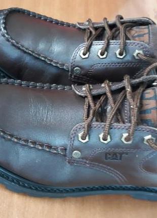 Кожаные ботинки caterpillar оригинал вьетнам