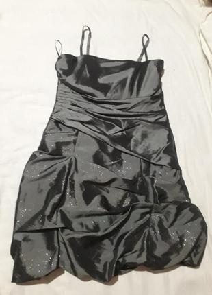 Платье миди корсет вечернее выпускное