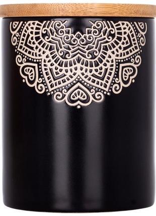 Банка limited edition kora jh6009-5 500 мл черная