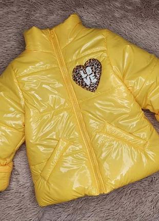 Детская демисезонная курточка на девочку