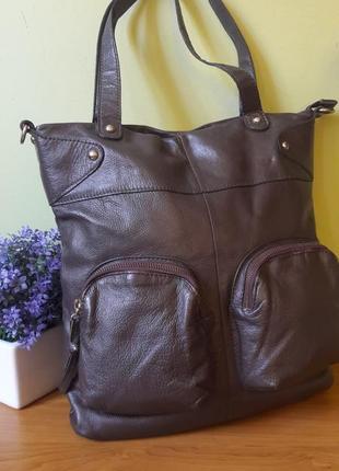 Женская кожаная сумка manfield