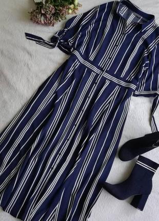 Довга сукня-рубашка, сукня-халат, великий розмір papaya