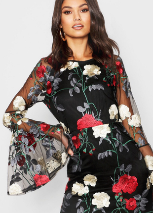 Шикарное новое платье boohoo