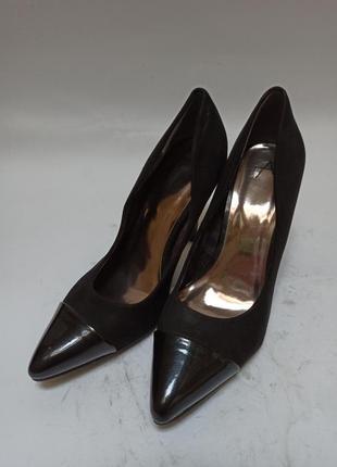 Anna field туфли черные.брендовая обувь stock