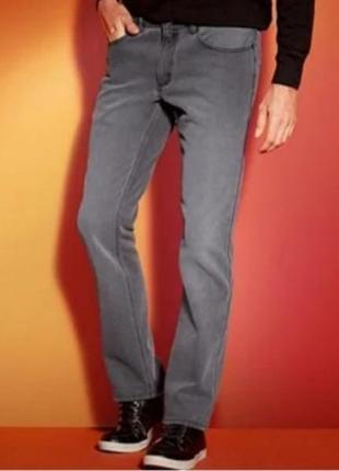 Мужские серые джинсы livergy 52 германия
