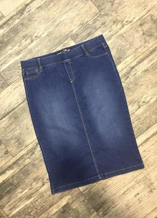 Супер джинсовая юбка