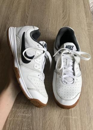 Nike court shuttle 4 41 р кожа кроссовки кросы кросівки