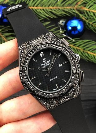 Женские часы diamonds black