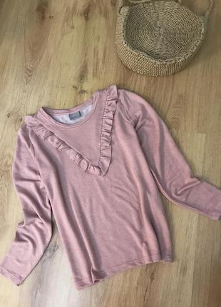 Нежный свитерок пудрового цвета