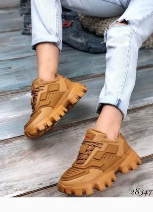 Стильные зимние кроссовки, кроссы, кроссовки на меху, хит сезона