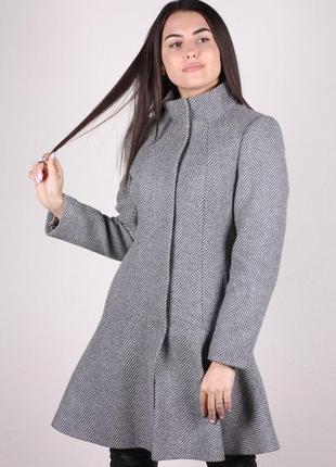 Пальто женское осеннее демисезонное ricco по распродаже