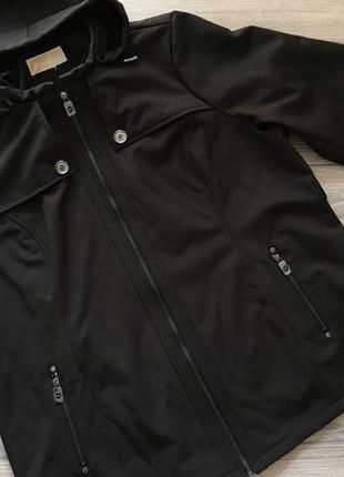 Демисезонная куртка софтшел michael kors размер xl - xxl. оригинал.