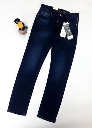 Приятные темно-синие джинсы , франция  размер 26