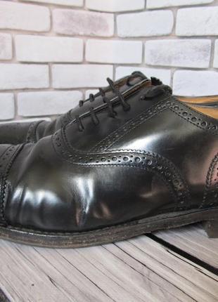 Туфли броги loake