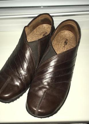 Туфли rohde,кожа р.39