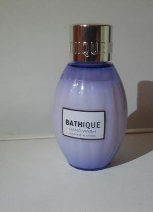Жидкое мыло bathique жасмин и базилик