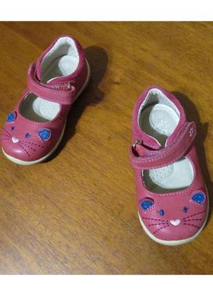 Кожаные туфли, балетки next mini