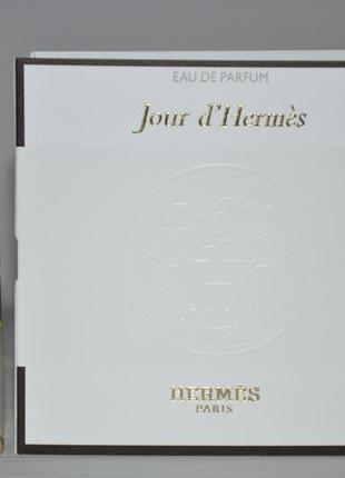 Hermes jour dhermes парфюмированная вода (пробник)