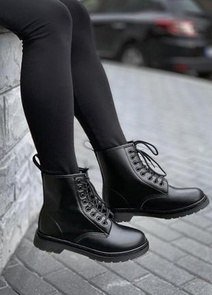 Ботинки dr. martens 1460 mono black🔥мартинсы, кожаные сапоги