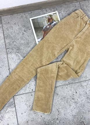 Вельветові штани в рубчик tally weijl