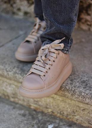 Кросівки mcqueen  mokko matte  ( premium ) кроссовки
