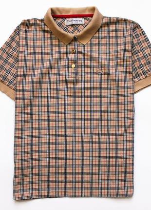 Классная футболка burberrys оригинальная, футболка поло, тенниска burberry, l-ка