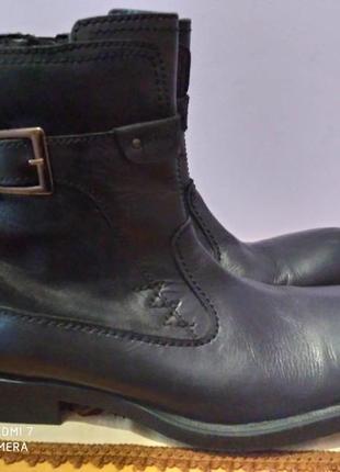 Кожаные ботинки wild foot bost shoes