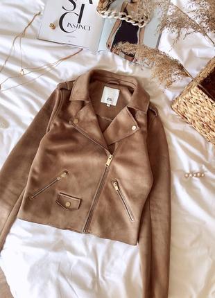 Косуха курточка от river island⚜️