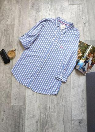 Рубашка домашний хлопковый короткий халат