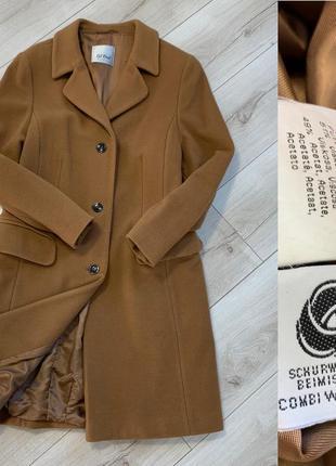 Тёплое кашемировое пальто немецкий бренд gil bret