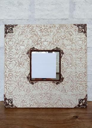 Интерьерное зеркало ikea c ручной росписью
