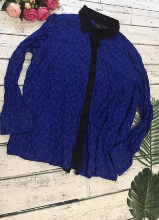 Блуза блузка рубашка леопардовая asos батал большой размер