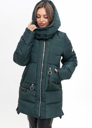 Куртка зимняя на силиконе 46-58
