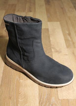 Шикарні черевички caprice оригінал ботинки сапоги оригинал кожа черевики чобітки