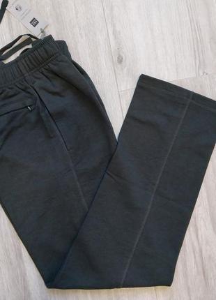 Мужские прямые спортивные штаны брюки marks & spencer размер w30-32/l31, w36-38/l31
