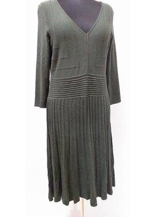 Max studio max mara l вязаное платье с длинным рукавом