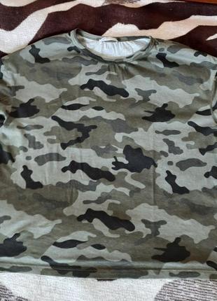 Камуфляжная футболка zara