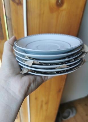 Блюдця тарілочки нові