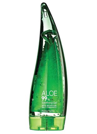 Holika holika 99% aloe soothing gel, корейская косметика